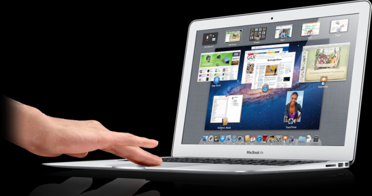 Macbook Air running Mac OS X Lion