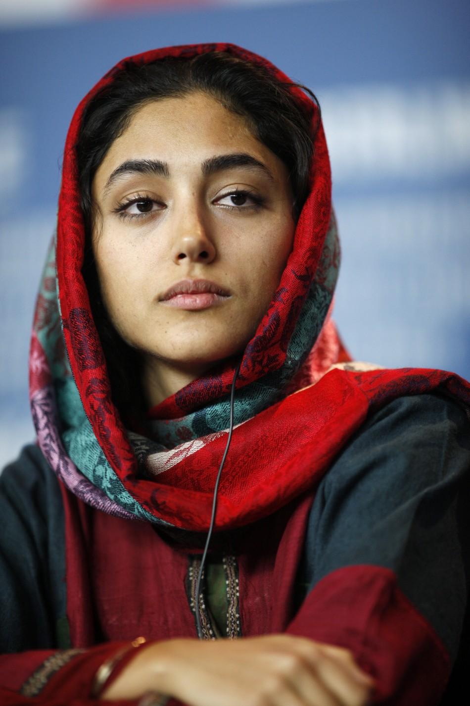 Iranian actress Farahani Golshifteh