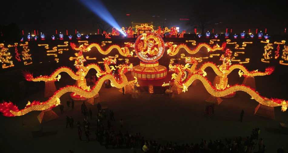 China Looks all Geared up for Year of Dragon [SLIDESHOW]