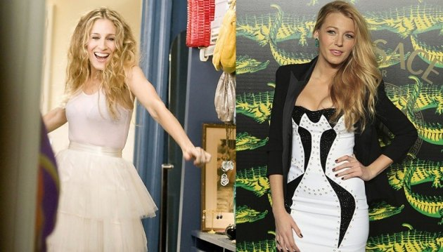 Sarah Jessica Parker and Blake Lively