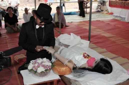 Man marries dead girlfriend