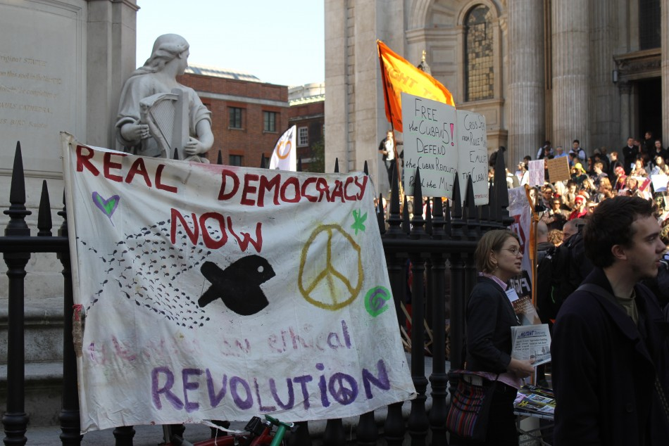 Cyber Attack Expected as Anonymous Hackers 'Monitoring' Occupy London St Paul's Eviction [VIDEO]