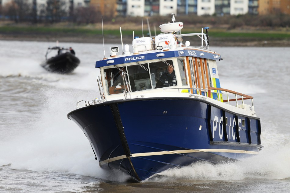 A Marine Policing Unit boat