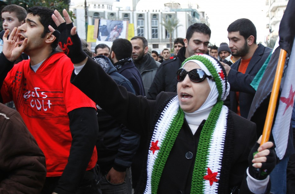 Political Protest in Syria