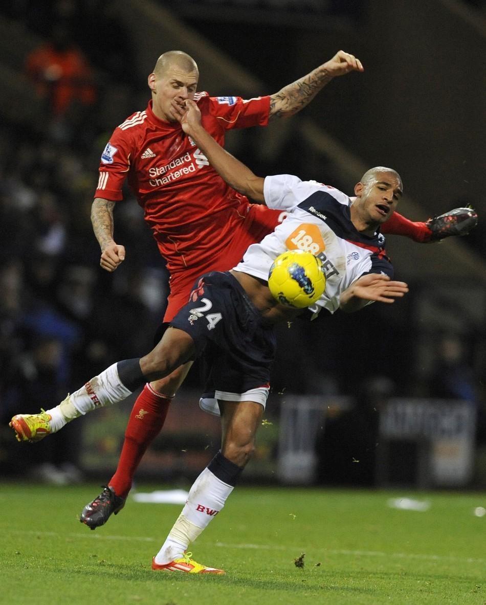 Bolton Wanderers-Liverpool