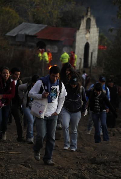 Guatemala volcano protest