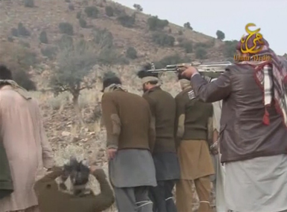 Still Images of Video Released by Pakistan Taliban