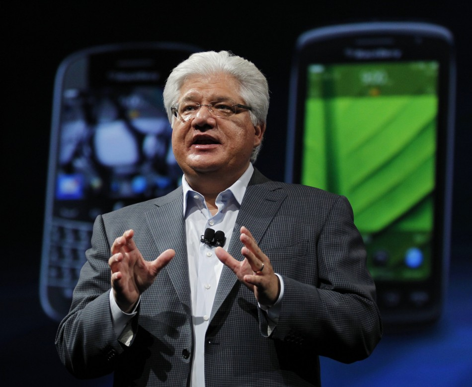 BlackBerry CEO Mike Lazaridis