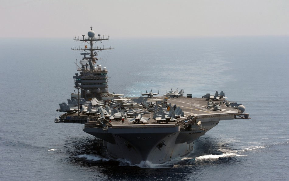 The USS Abraham Lincoln