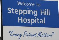 Stepping Hill hospital in Stockport.