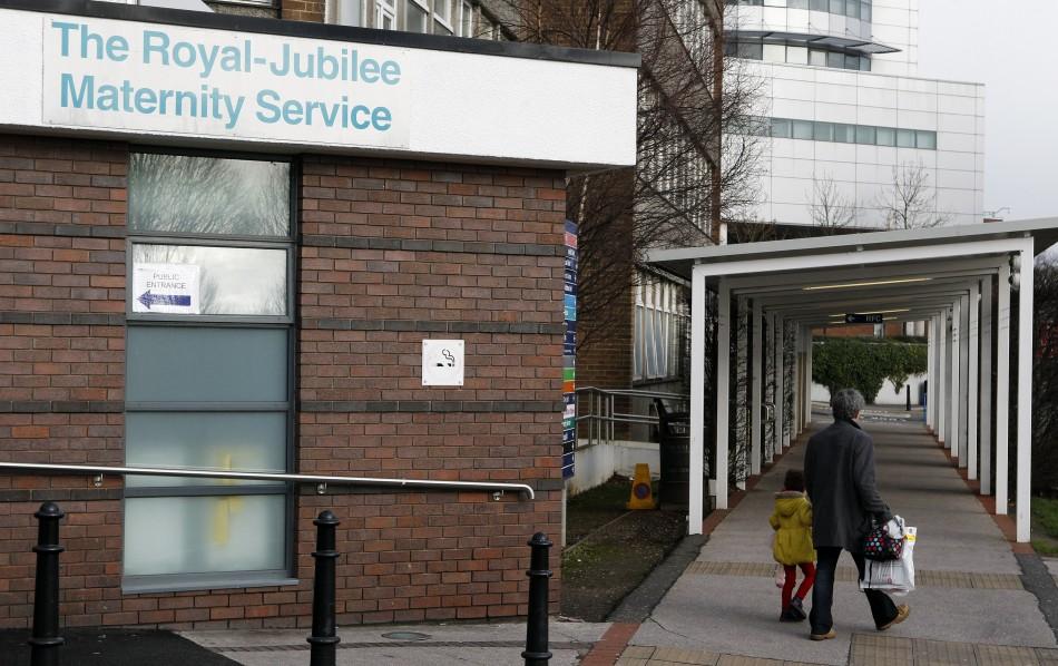 Neo-natal unit Belfast's Royal Jubilee Maternity Hospital