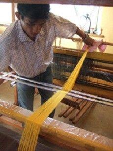 Golden Orb Spider silk