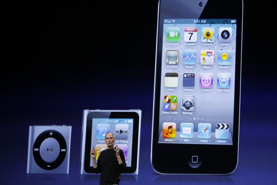 iPod range