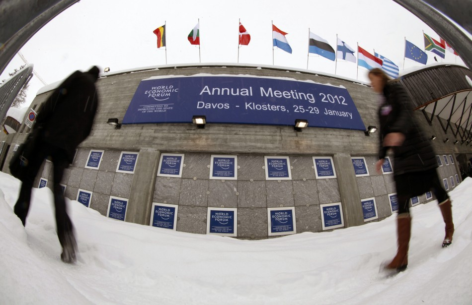 Davos World Economic Forum at the congress centre