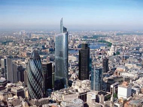An artist's impression on how the £800m Pinnacle will look (Ken Pederson Fox)