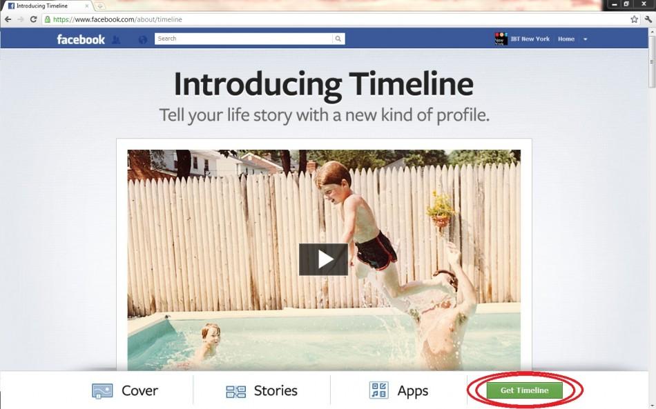 """Press """"Get Timeline"""""""