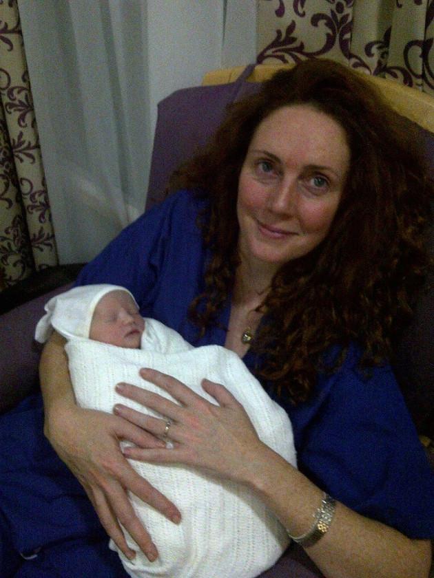 Scarlett Anne Mary Brooks and Rebekah Brooks