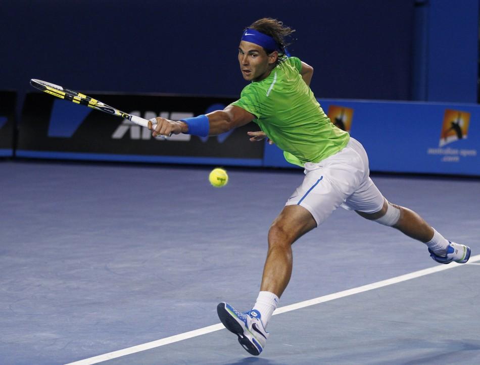 Nadal beats Federer in Australian Open
