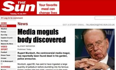 7 Anonymous Punish News International for Phone Hacking