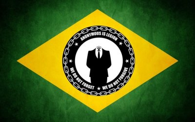 10 Anonymous Hackers Release Evidence of Brazilian Government Corruption