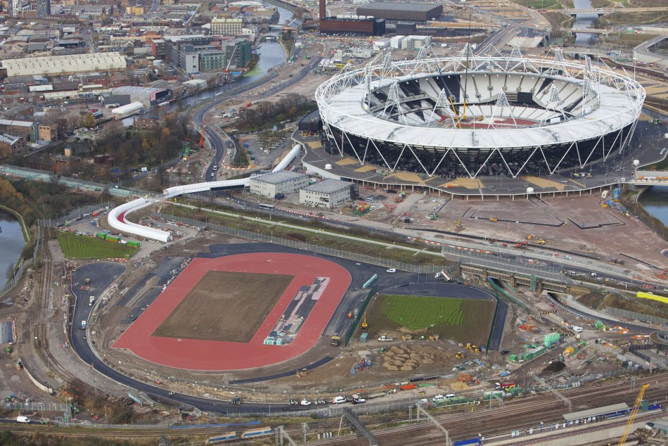 Olympic Park London 2012 sponsors chquered pasts