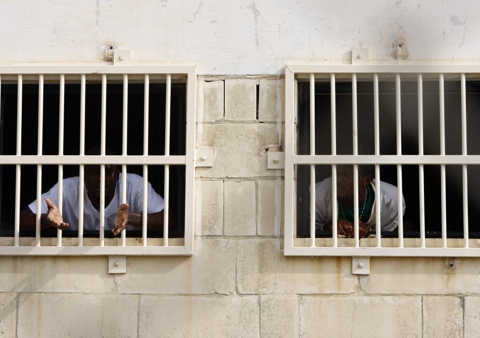 Safi detention centre in Libya