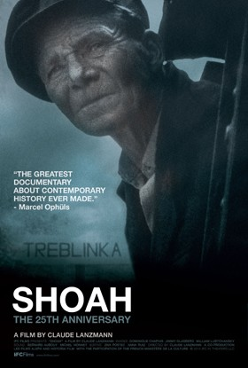 Poster of the film Shoah by Claude Lanzmann