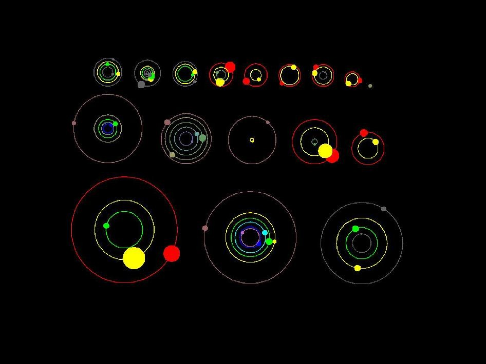 Kepler's Planetary Systems' Orbits