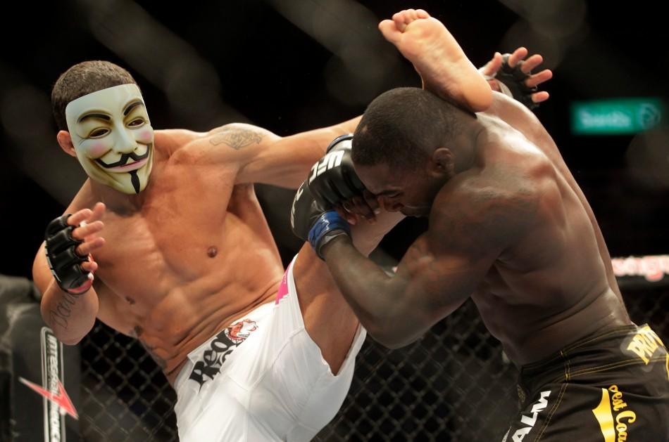 OpUFC: Anonymous Hackers Punish UFC Sopa Supporting President Dana White
