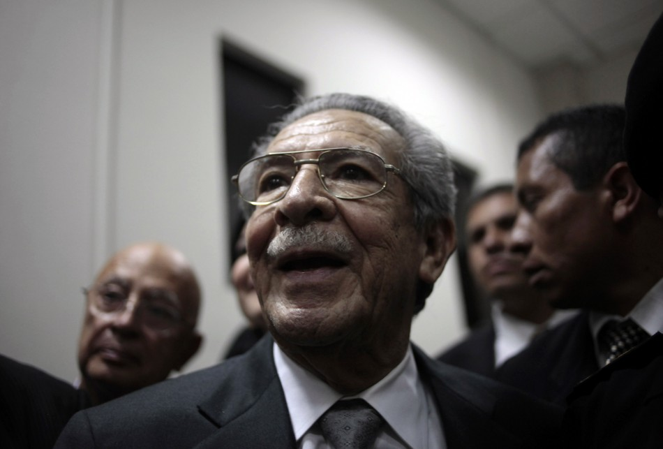 Former Guatemalan dictator Efrain Rios Montt to stand trial genocide