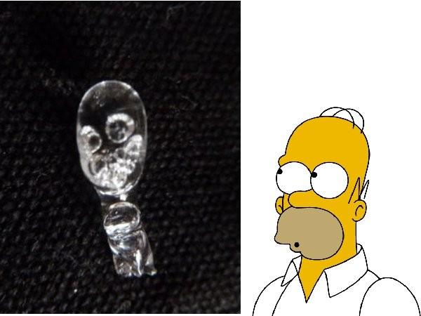 Homer Simpson glue