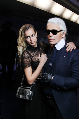 Paris Fashion Week 2012: Stylish Celebrities and Fashionistas Celebrates High Couture