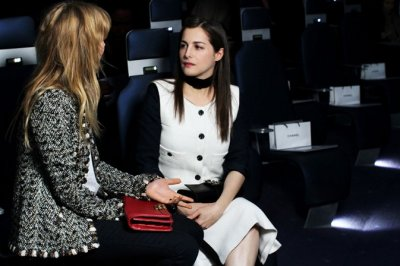 Paris Fashion Week 2012 Stylish Celebrities and Fashionistas Celebrates High Couture
