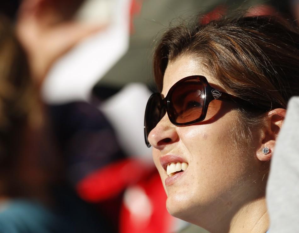 WAGs at Australian Open 2012