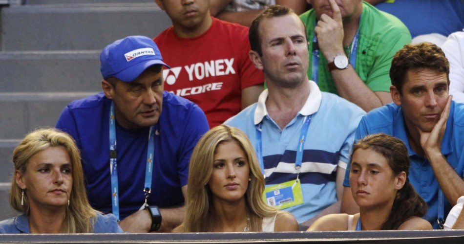 WAGs at Australian Open