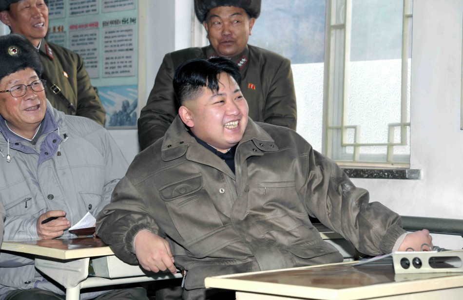 Kim Jong-un visits the Korean People's Army Unit 169