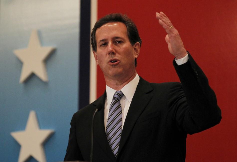Rick Santorum rising gas prices