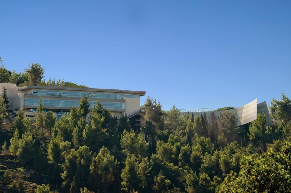 A new international seminars wing has opens at Yad Vashem Holocaust Museum