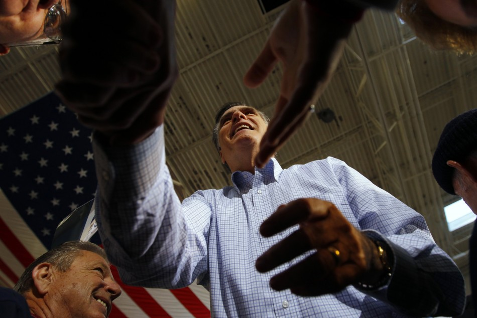Mitt Romney is  favourite to win in Florida