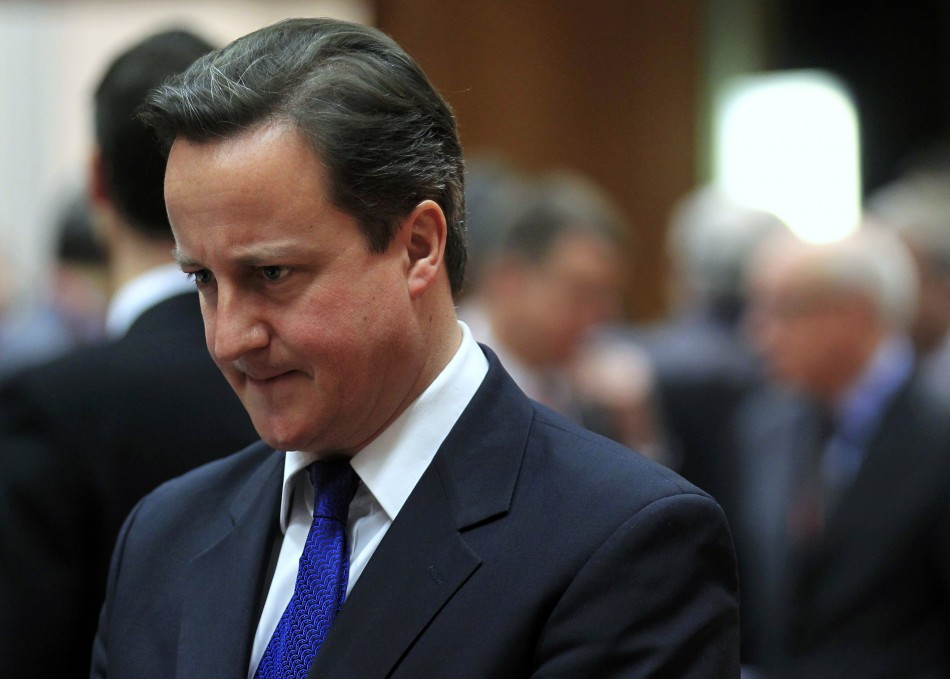 David Cameron makes U-turn over Europe