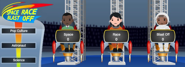 Space race Blast Off: NASA's first Multi-Player game on Facebook