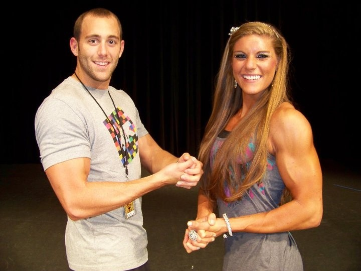 Anna Watson: Photos of the Muscle-Bound Cheerleader