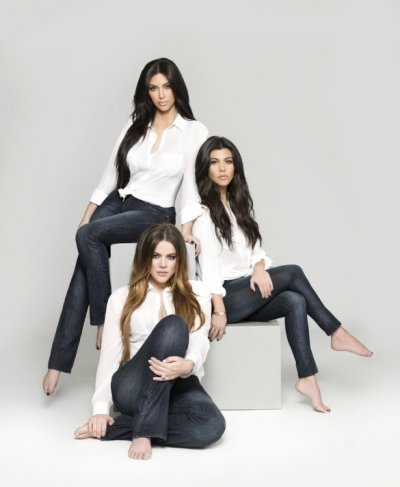 Kim, Khloe, Kourtney Go All Natural Sisters Pose Topless for Denim Shoot