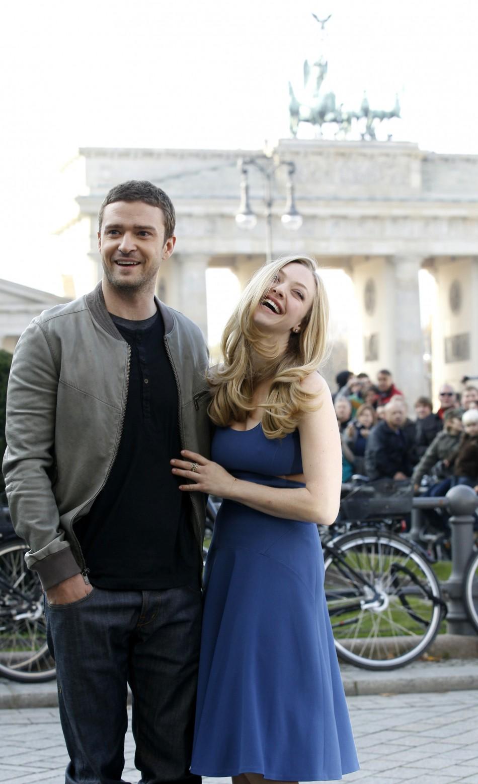 Timberlake and Amanda Seyfried