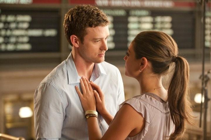 Justin Timberlake and Mila Kunis.