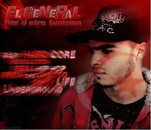 Tunisian rapper El  Général