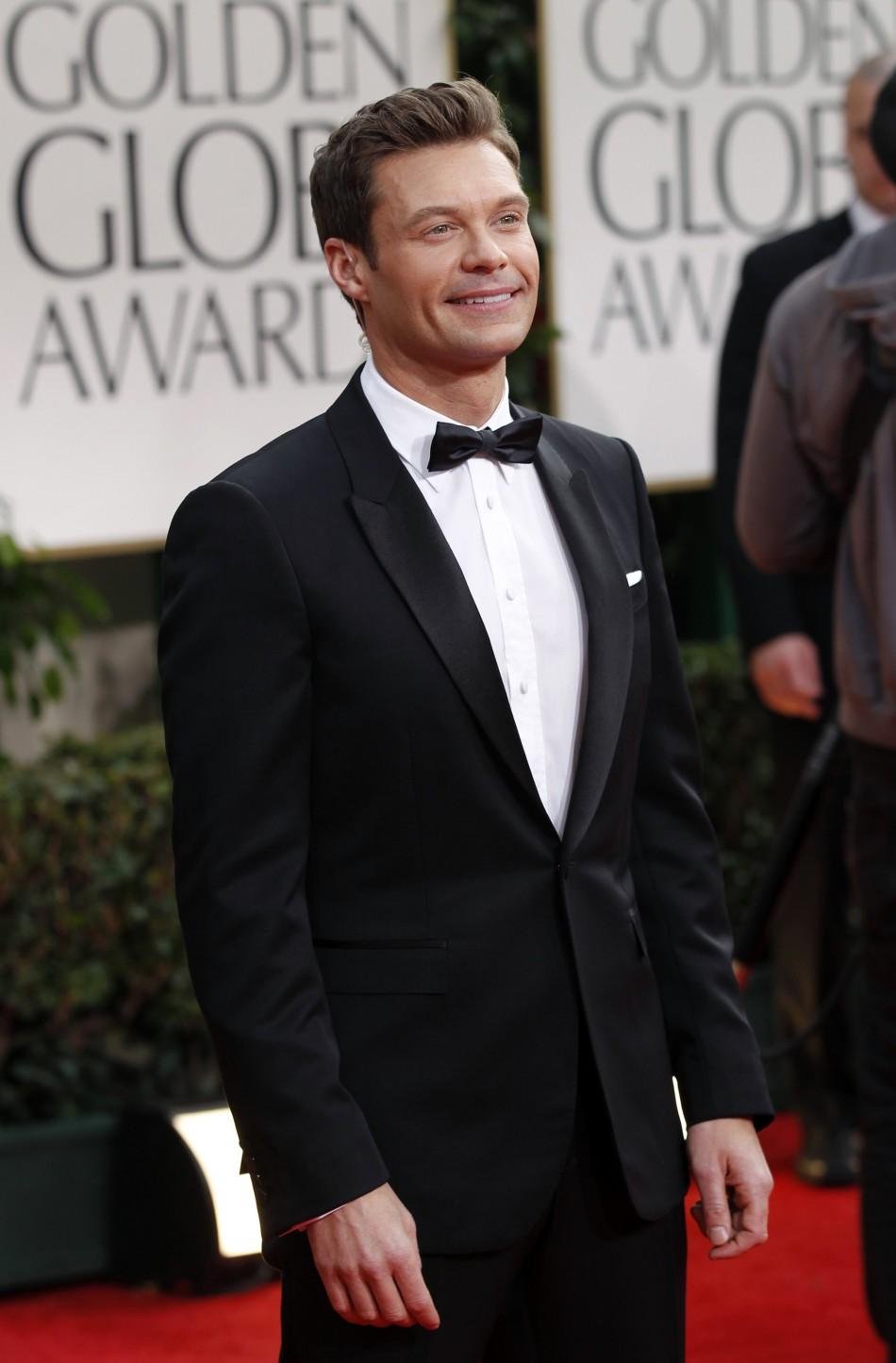Ryan Seacrest on the red carpet