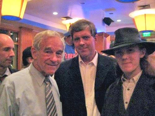 Ron Paul with neo-Nazi leader Don Black
