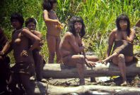 Startling New Photos of Uncontacted Tribe in Peru Released