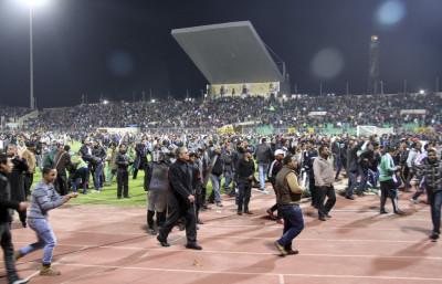Egypt Soccer Field Violence